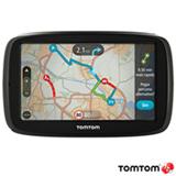"""Navegador GPS Tomtom com Tela Touch Screen de 5"""" LCD, 8GB e Bluetooth Preto - GO 50B"""