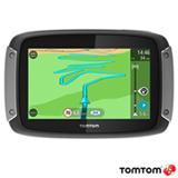 """Navegador GPS para Moto TomTom com Tela Touch Screen de 4,3"""", 8GB, Bluetooth e Alerta de Radar - Rider 400"""