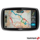 Navegador GPS Tomtom com Tela Touch Screen de 6, 8GB, Bluetooth e Modo de Visao 2D e 3D Preto - GO 600
