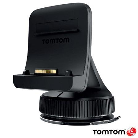 """Navegador GPS Tomtom com Tela Touch Screen de 6"""", 8GB, Bluetooth e Modo de Visão 2D e 3D Preto - GO 600, Preto, 12 meses, Tomtom, Não"""