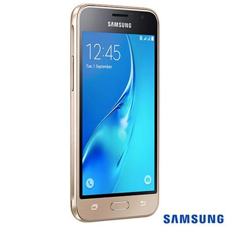, Dourado, Acima de 4'', Sim, 12 meses, Android, Sim, Quad Core 1.2 GHz, Sim, Sim, Wi-Fi + 3G, 5.0 MP, Sim, 08 GB, 4.5'', 2, Não, Galaxy J1, Webfones