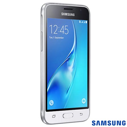 , Branco, Acima de 4'', Sim, 12 meses, Android, Sim, Quad Core 1.2 GHz, Sim, Sim, Wi-Fi + 3G, 8.0 MP, Sim, 08 GB, 4.5'', 2, Não, Galaxy J1, Webfones