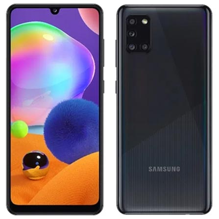Celular Smartphone Samsung Galaxy A31 A315f 128gb Preto - Dual Chip