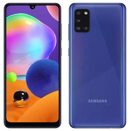 Celular Smartphone Samsung Galaxy A31 A315a 128gb Azul - Dual Chip