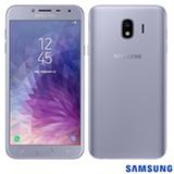 """Samsung Galaxy J4 Prata, com Tela de 5,5"""", 4G, 32 GB e Câmera de 13 MP - SMJ400"""