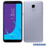 """Samsung Galaxy J6 Prata, com Tela de 5,6"""", 4G, 32 GB e Câmera de 13 MP - SMJ600"""