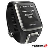 Relogio Tomtom Spark Cardio + Music Premium Preto Large com Pulseira Extra