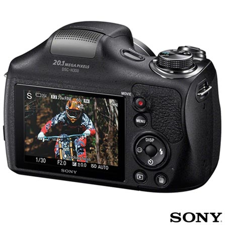 , Preto, Superzoom, HD, 35 x, 12 meses, Sony