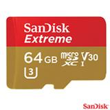 Cartão de Memória Classe 10 Sandisk com 64 GB de Capacidade para Câmeras GoPro - SDSQXAF-064G-GN6AA