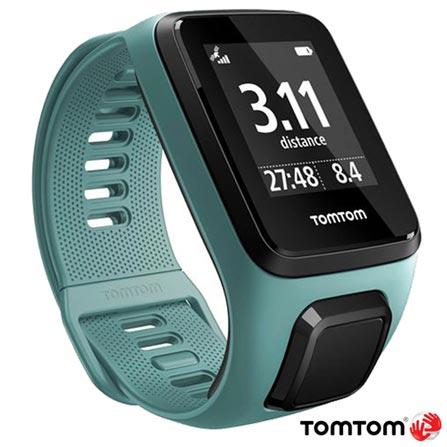 Relógio TomTom Spark 3 Aqua Small com GPS, à Prova d'água e Bluetooth®, Azul, 12 meses, Tomtom, Sim, Relógio