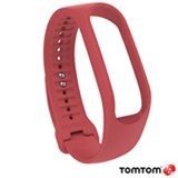Pulseira Tomtom para Monitor Cardiaco Touch Large Coral