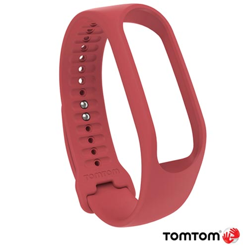 Pulseira Tomtom para Monitor Cardiaco Touch Large Coral, Coral, 03 meses, Tomtom, Não, Monitor Cardíaco