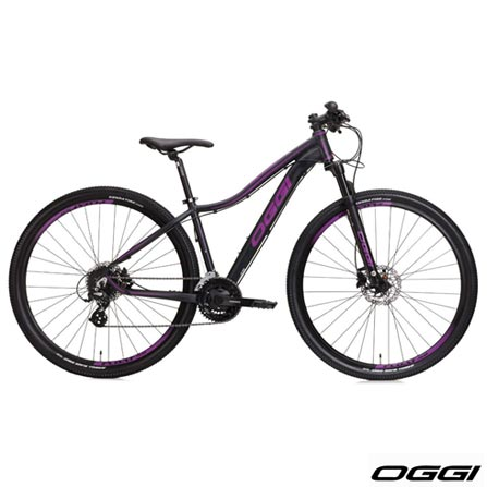 , Preto e Roxo, Freecycle, 06 meses, Mountain Bike, Feminino, 29, 17