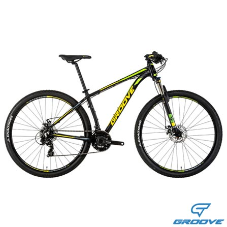 , Preto e Amarelo, Freecycle, 06 meses, Mountain Bike, 29, 19