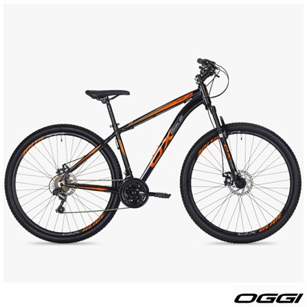 , Preto e Laranja, Freecycle, 06 meses, Mountain Bike, 29, 19