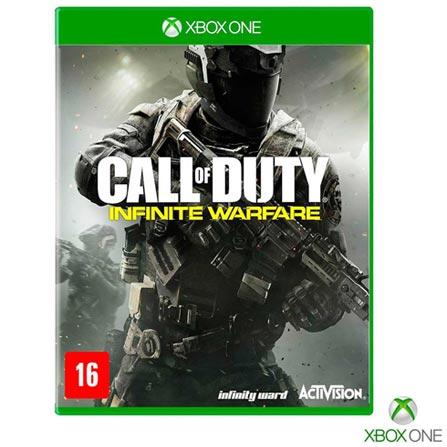 Jogo Call of Duty Infinite Warfare para Xbox One, Não se aplica, 14 anos, Console Xbox One, Xbox One, Português, Português, Tiro em Primeira Pessoa, Blu-ray, 03 meses, Webfones
