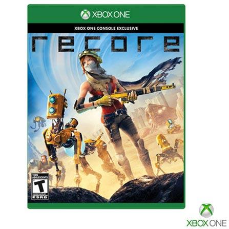 Jogo Recore para Xbox One, Não se aplica, Livre, Console Xbox One, Xbox One, Português, Português, Blu-ray, 03 meses, Webfones