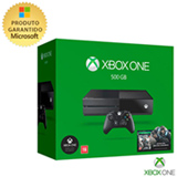 Console Xbox One 500GB + Jogo Gears of War 4 (Download)