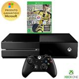 Console Xbox One 500GB sem Kinect + Jogo Fifa 17 (Download)