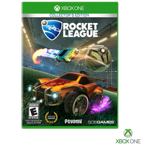 Jogo Rocket League para Xbox One, Não se aplica, Livre, Xbox One, Português, Português, Corrida, Blu-ray, 03 meses, Webfones