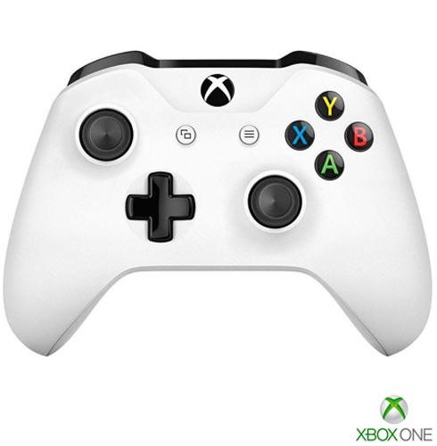 Controle Sem Fio Para Xbox One Branco - Microsoft, Branco, Console Xbox One, 03 meses, Webfones