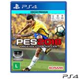 Jogo Pro Evolution Soccer PES 2018 para PS4
