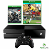 Console Xbox One + Gears of War 4 + PES 2018