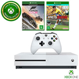Console Xbox One S 500 GB de HD + Pro Evolution Soccer + Forza Horizon 3