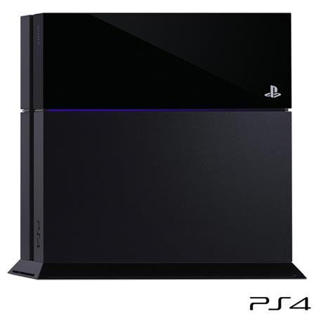 PlayStation 4 Sony com 500 GB e 01 Controle, Bivolt, Bivolt, Preto, PlayStation 4, 14 anos, 12 meses, Sony