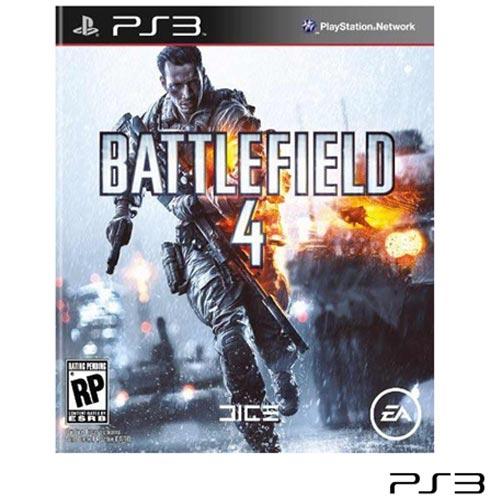 Jogo Battlefield 4 para Playstation 3, Não se aplica, 16 anos, PlayStation 3, Português, Português, Tiro em Primeira Pessoa, Blu-ray, 03 meses, Webfones