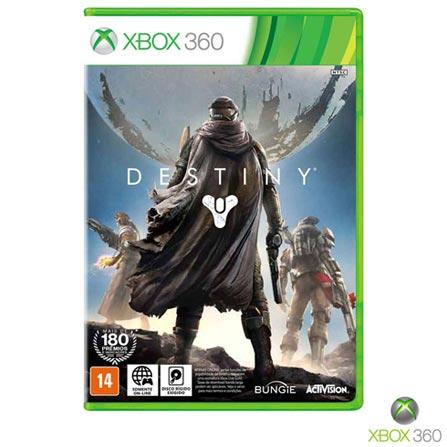 Jogo Destiny para Xbox 360, Não se aplica, 14 anos, Console Xbox 360, Xbox 360, Português, Português, Ação, DVD, 03 meses, Webfones