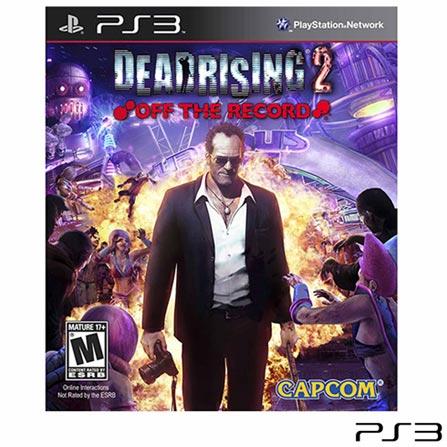 Jogo Dead Rising 2: Off the Record para PS3, Não se aplica, 18 anos, Console PS3, PlayStation 3, Inglês, Inglês, Ação, Blu-ray, 03 meses, Webfones