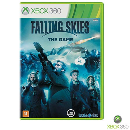 Jogo Falling Skies: the Game para Xbox 360, Não se aplica, 14 anos, Console Xbox 360, Xbox 360, Inglês, Inglês, Aventura, DVD, 03 meses, Webfones