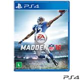 Jogo Madden NFL 16 para Playstation 4