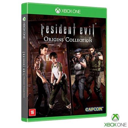 Jogo Resident Evil Origins: Collection para Xbox One, Não se aplica, 18 anos, Console Xbox One, Xbox One, Inglês, Português, Ação, Blu-ray, 03 meses, Webfones