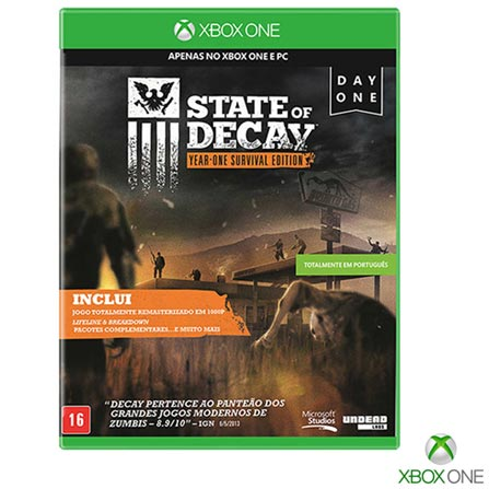 , Não se aplica, 18 anos, Console Xbox One, Xbox One, Inglês, Português, Blu-ray, 03 meses, Webfones