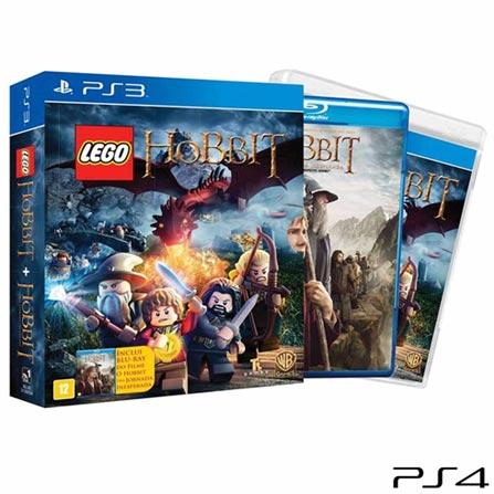 Jogo LEGO Hobbit Bundle para PS3, Não se aplica, Livre, Console PS3, PlayStation 3, Português, Português, Blu-ray, 03 meses, Webfones