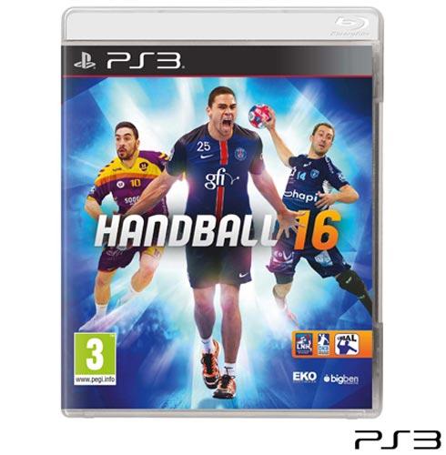 Jogo Handball 16 para Playstation 3, Não se aplica, Livre, PlayStation 3, Inglês, Inglês, Esportes, Blu-ray, 03 meses, Webfones
