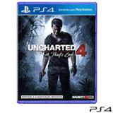 Jogo Uncharted 4 a Thiefs End para PS4