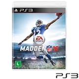 Jogo Madden NFL 16 para Playstation 3