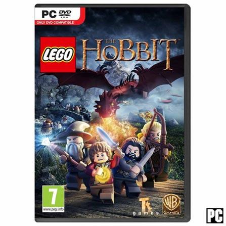 Jogo LEGO Hobbit para PC, Não se aplica, Livre, PC, PC, Português, Português, DVD, 03 meses, Webfones