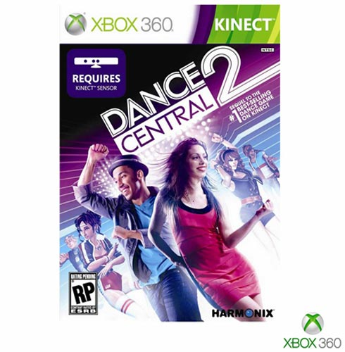 Jogo Dance Central 2 para Xbox 360, Não se aplica, Livre, Xbox 360, Inglês, Inglês, Simulador, DVD, 03 meses, Webfones