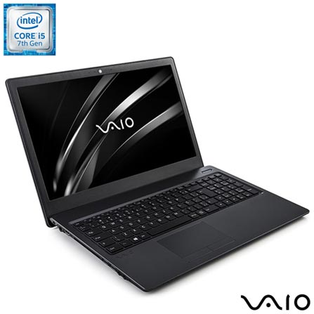 Notebook Vaio Intel Core i5, 8GB, 1TB, Tela de 15,6, Intel HD Graphics 620 - Fit 15S, Bivolt, Bivolt, Chumbo, 1 TB, 000008, Intel Core i5, Windows 10 Home, LCD, Não, Não, 12 meses, Vaio