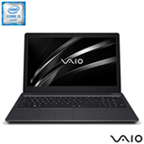 "Notebook Vaio® Intel® Core™ i3, 4GB, 1TB, Tela de 15,6"", Intel HD Graphics 520 - Fit 15S"
