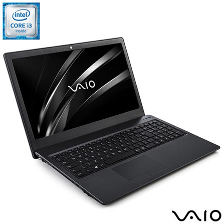 , Bivolt, Bivolt, Chumbo, 1 TB, 004096, Intel Core i3, Windows 10 Home, LCD, Não, 12 meses, Vaio
