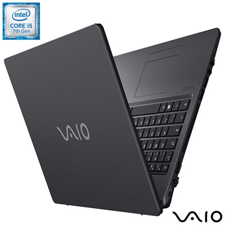 "Notebook Vaio® Intel® Core™ i5, 4GB, 1TB, Tela de 15,6"", Intel HD Graphics 620 - Fit 15S, Bivolt, Bivolt, Chumbo, 1 TB, 004096, Intel Core i5, Windows 10 Home, LCD, Não, 12 meses, Vaio"