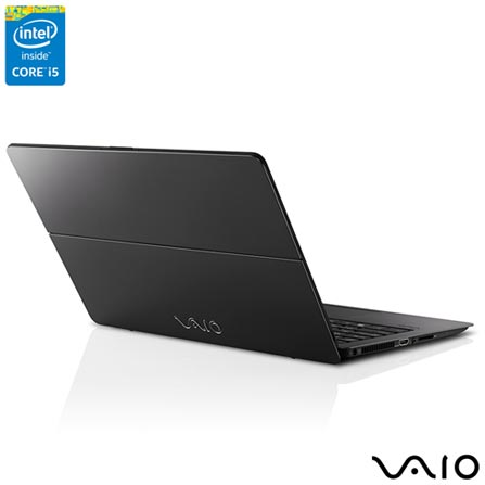 , Bivolt, Bivolt, Preto, 128 GB, 008192, Intel Core i5, Windows 10 Home, LCD Touchscreen, Sim, 12 meses, Vaio
