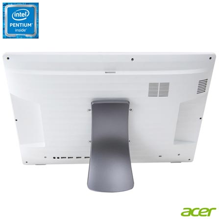 , Bivolt, Bivolt, Branco, Windows 10 Home, Intel Pentium, 000004, 500 GB, 12 meses, Não, LED, Acer, Não