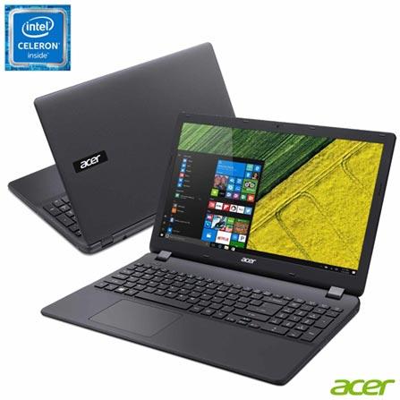 , Bivolt, Bivolt, Preto, Windows 10 Home, Intel Celeron, 000004, 500 GB, 12 meses, Não, LED, Acer