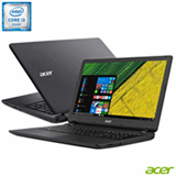 "Notebook Acer® Aspire, Intel® Core™ i3, 4GB, 1TB, Tela de 15.6"", Preto - ES1-572-3562"
